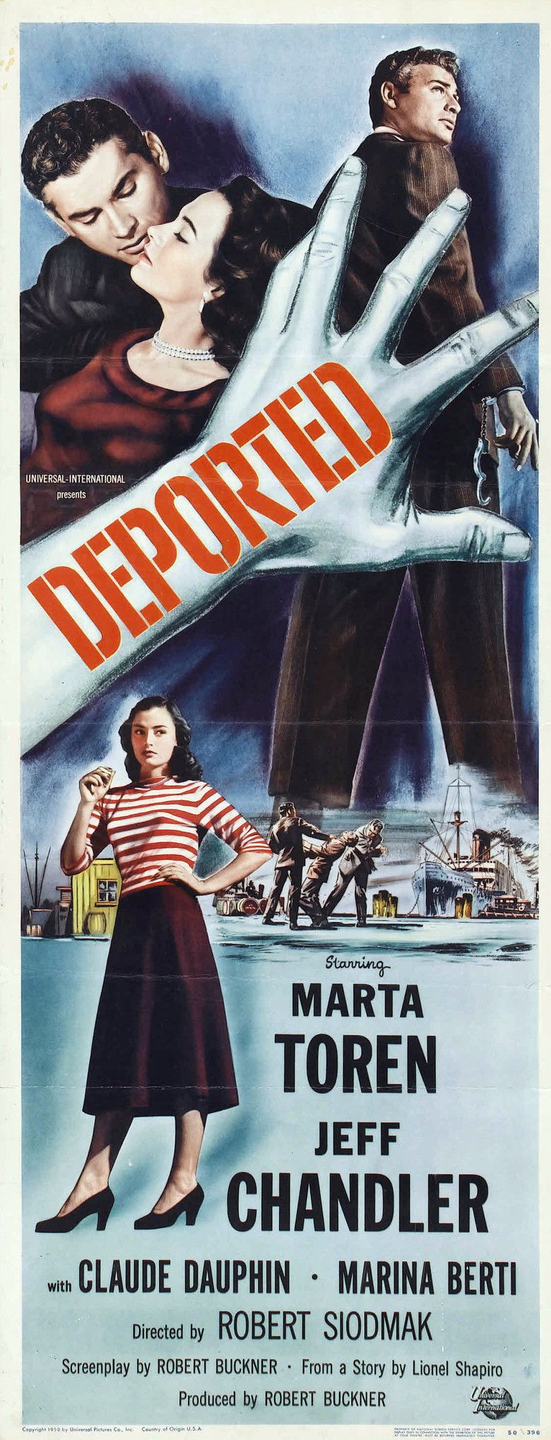 Deported (film) movie poster