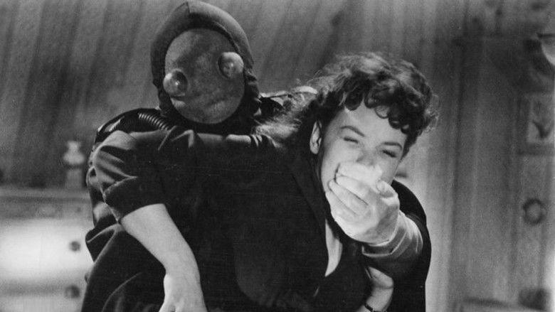 Der Frosch mit der Maske movie scenes
