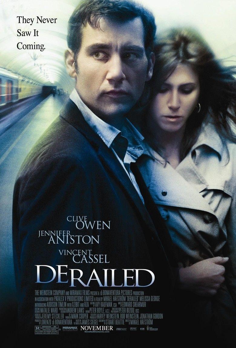 Derailed (2005 film) movie poster