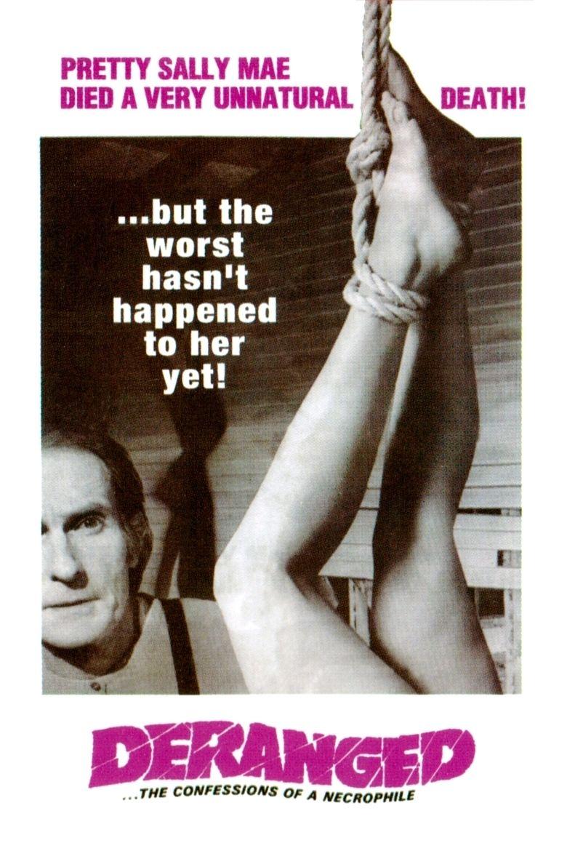Deranged (1974 film) movie poster