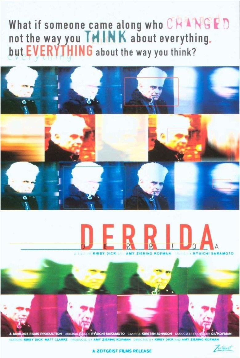 Derrida (film) movie poster