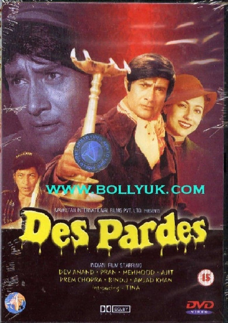 Des Pardes movie poster