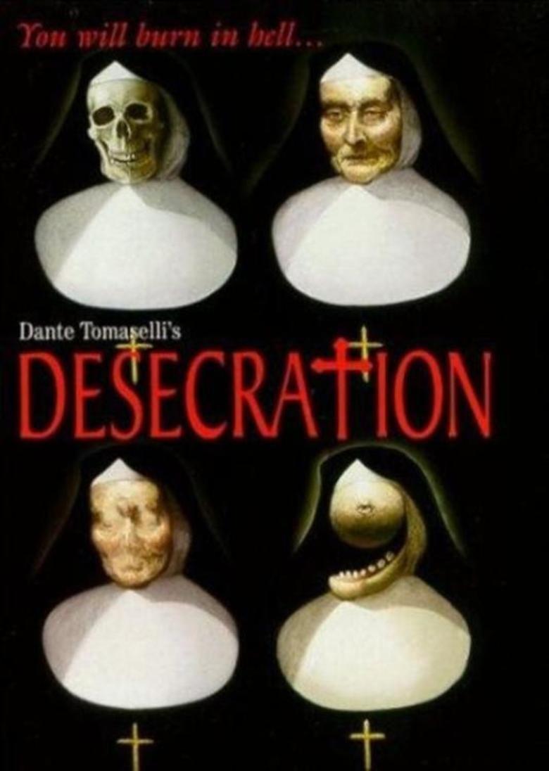 Desecration (film) movie poster