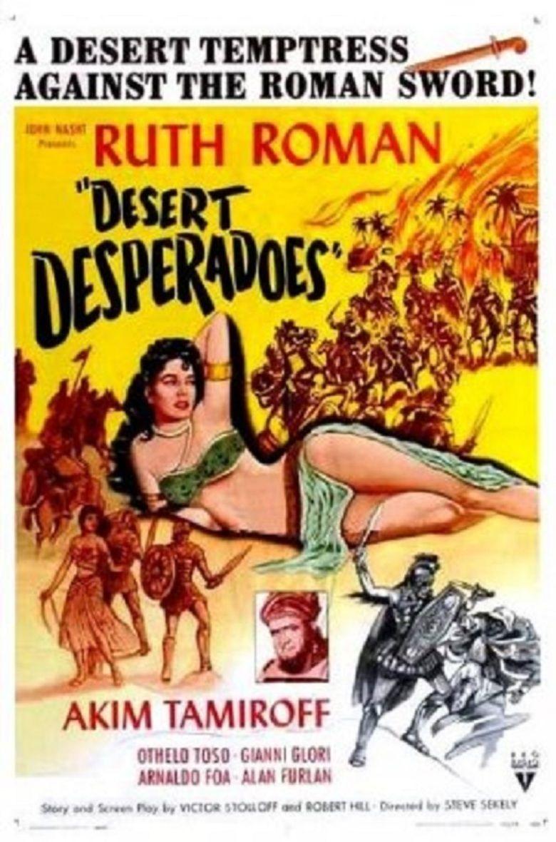 Desert Desperadoes movie poster