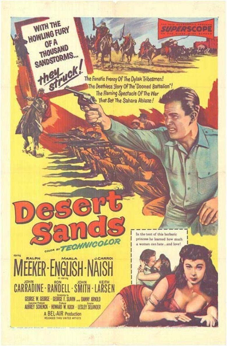 Desert Sands movie poster