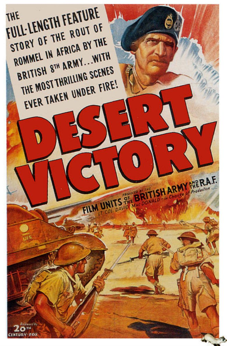 Desert Victory movie poster