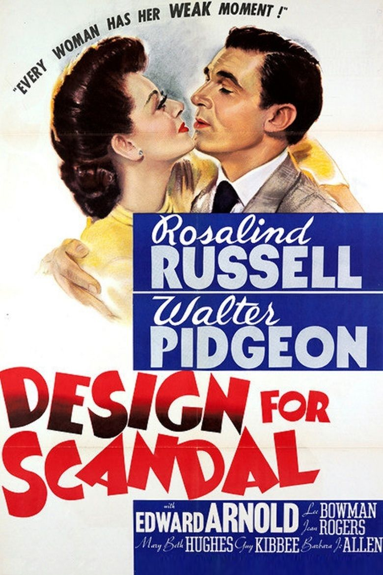 Design for Scandal movie poster