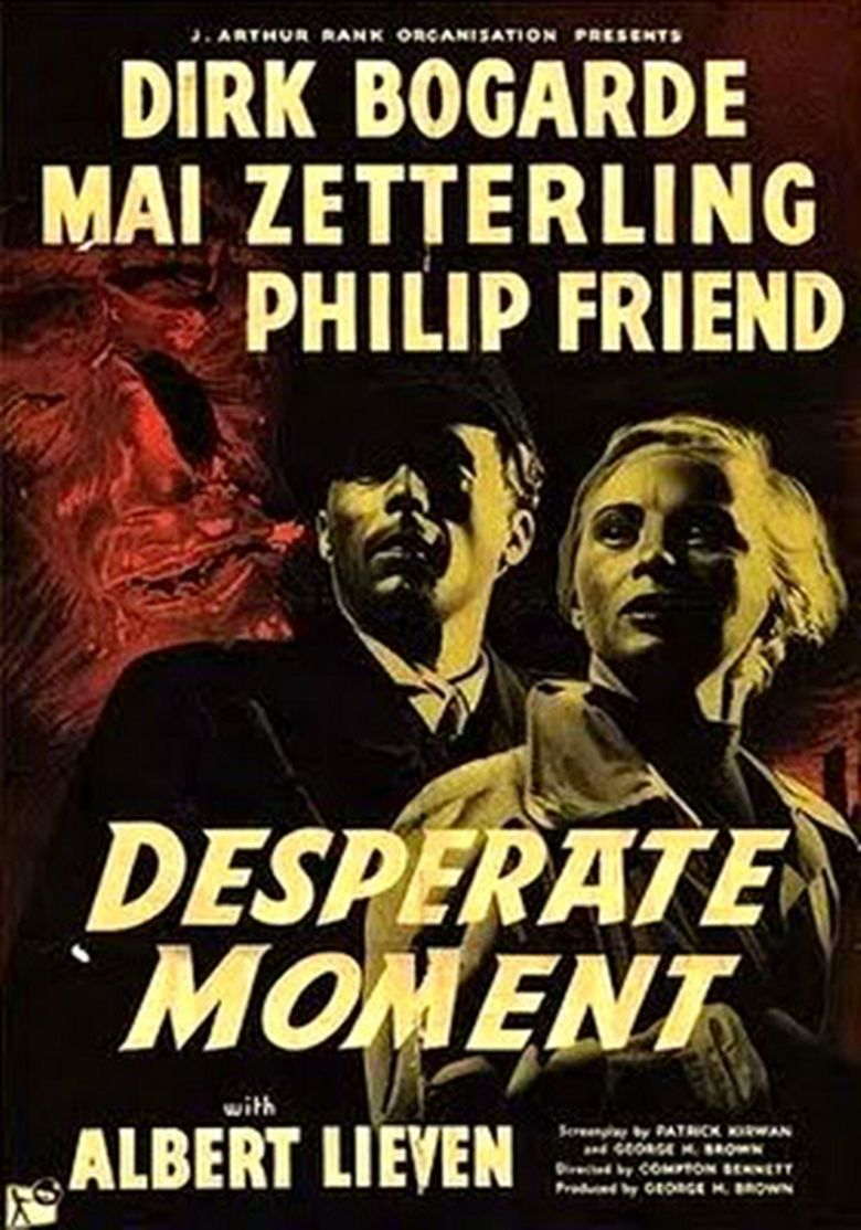 Desperate Moment movie poster