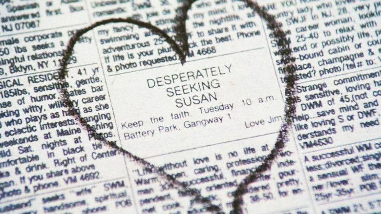 Desperately Seeking Susan movie scenes