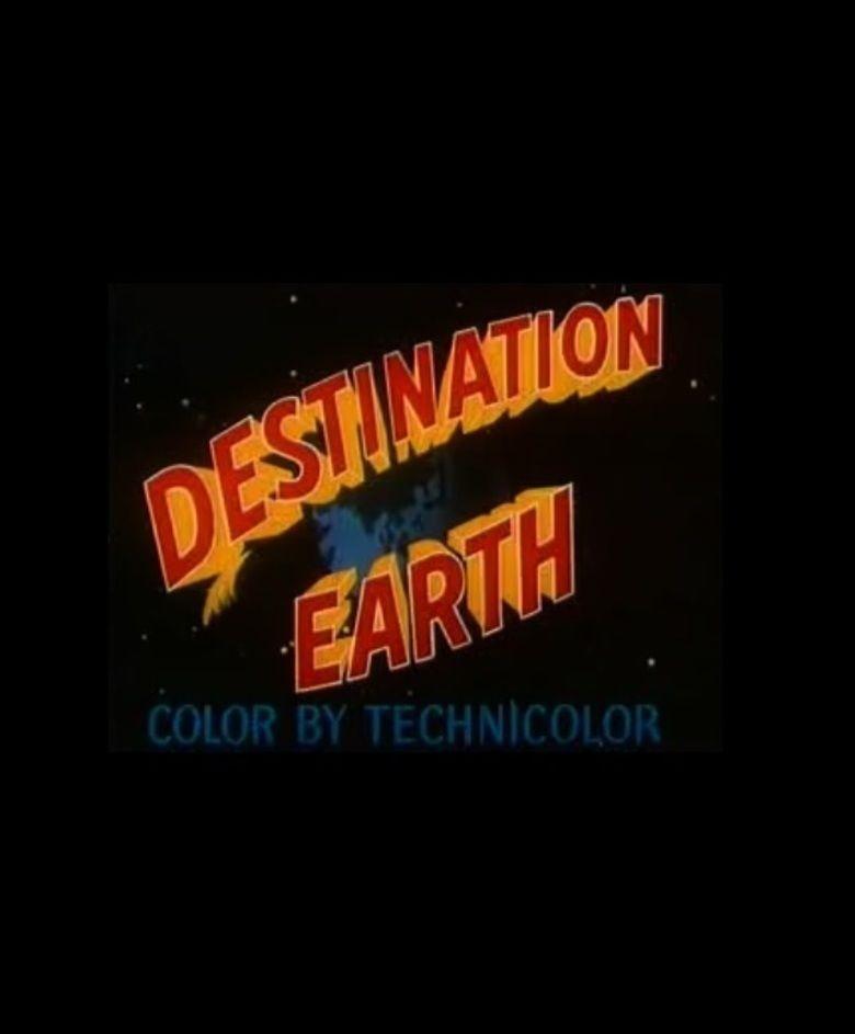 Destination Earth movie poster