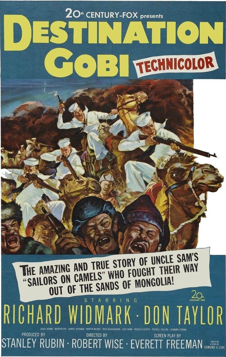 Destination Gobi movie poster