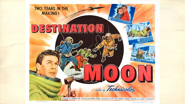 Destination Moon (film) movie scenes