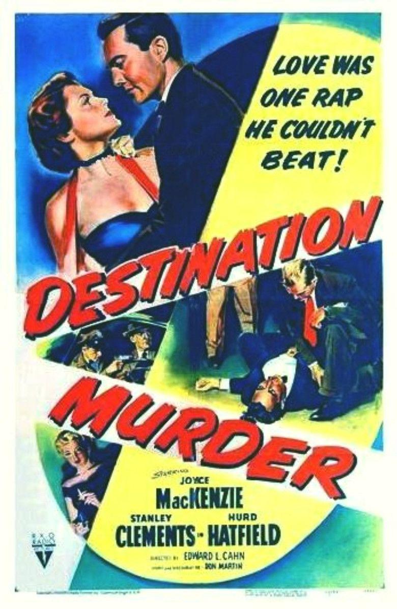 Destination Murder movie poster