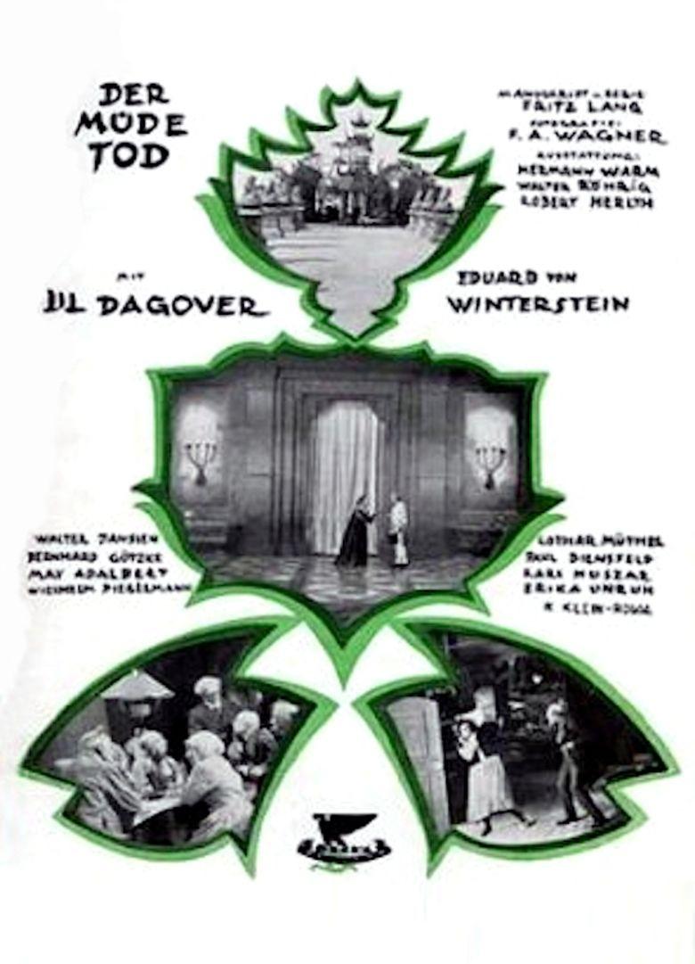Destiny (1921 film) movie poster