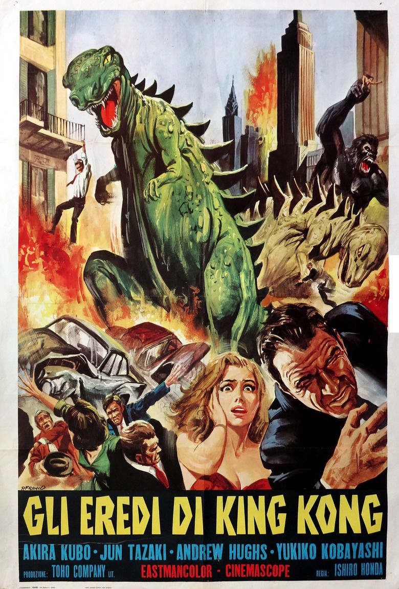 Destroy All Monsters movie poster
