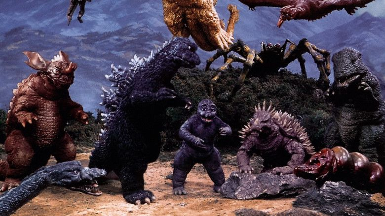 Destroy All Monsters movie scenes