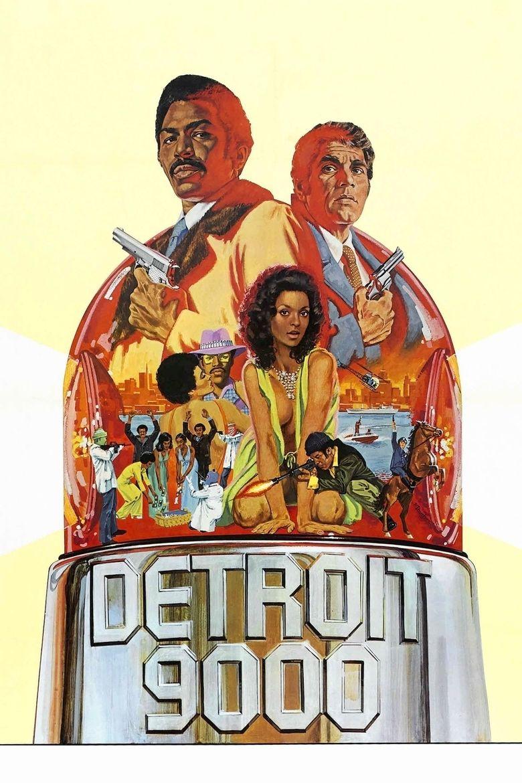 Detroit 9000 movie poster