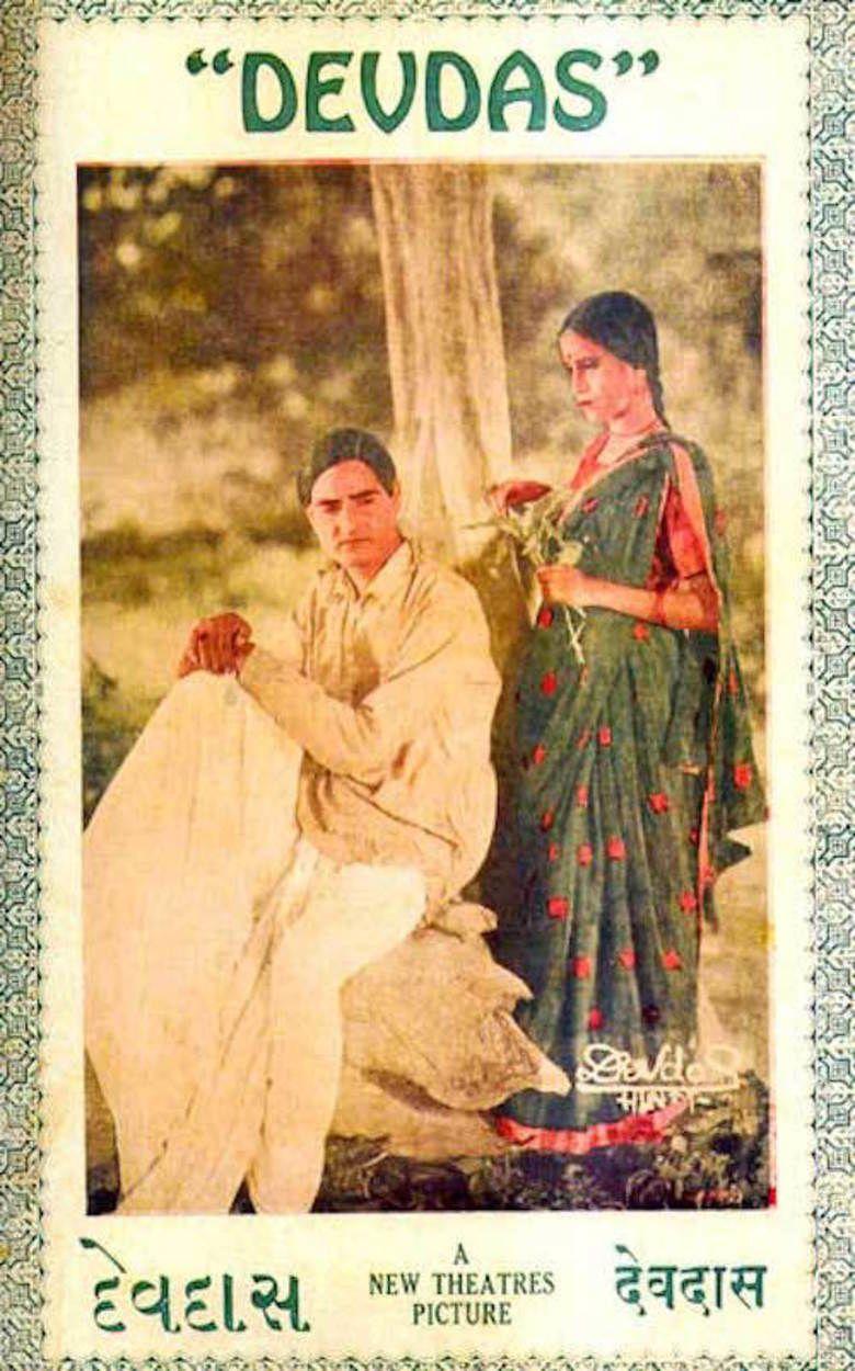 Devdas (1935 film) movie poster