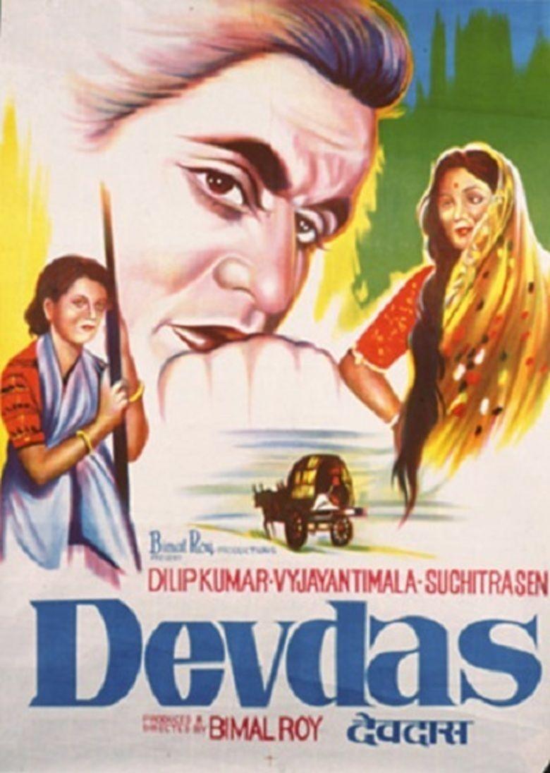 Devdas (1955 film) movie poster