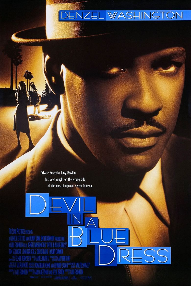 Devil in a Blue Dress (film) movie poster