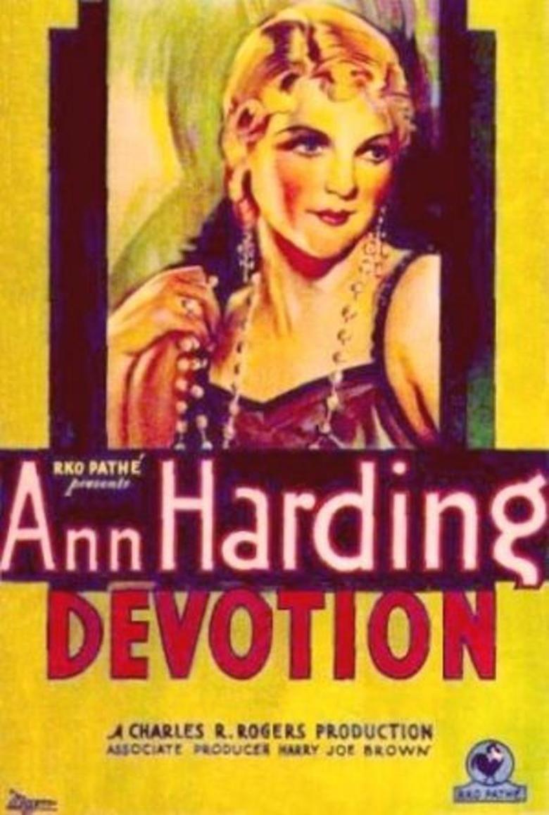 Devotion (1931 film) movie poster