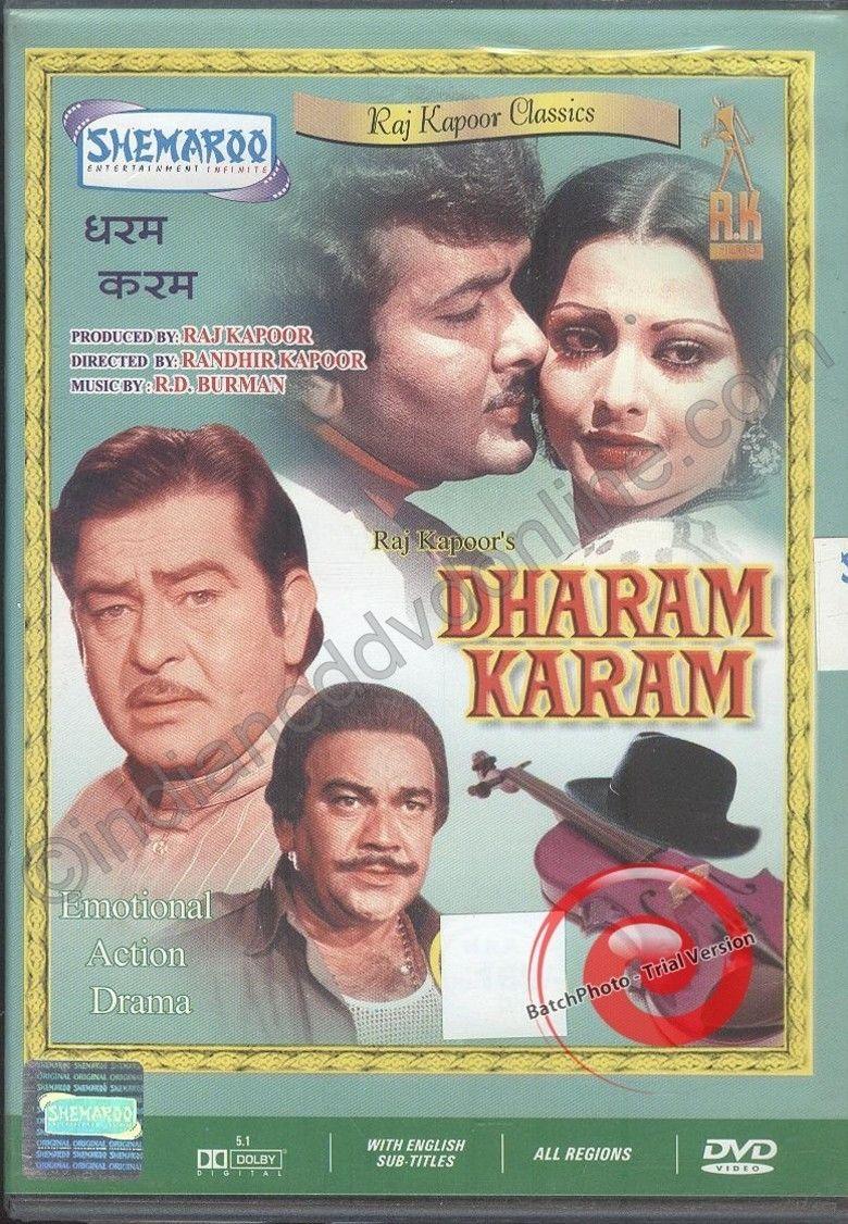 Dharam Karam movie poster