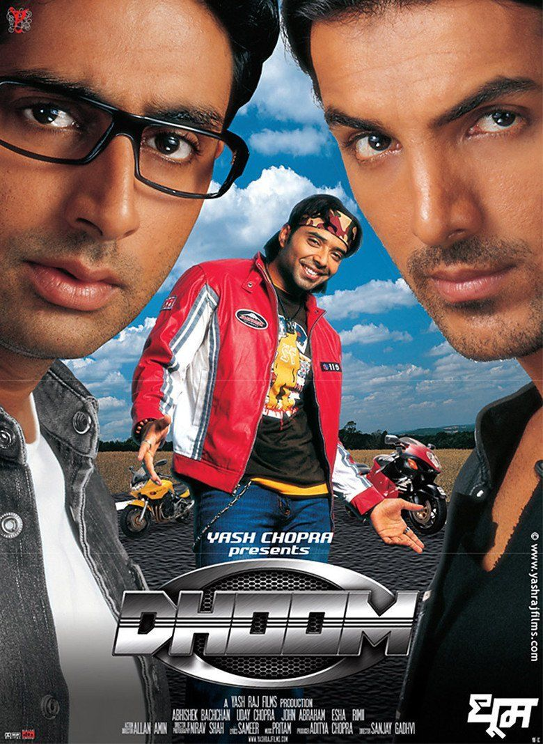 Dhoom movie poster