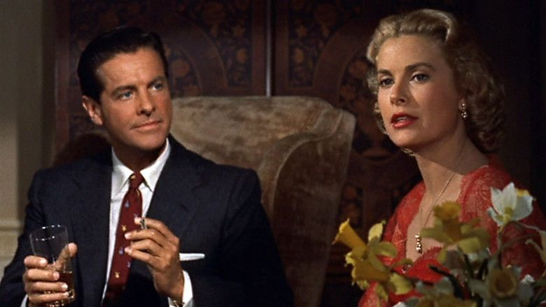 Dial M for Murder movie scenes