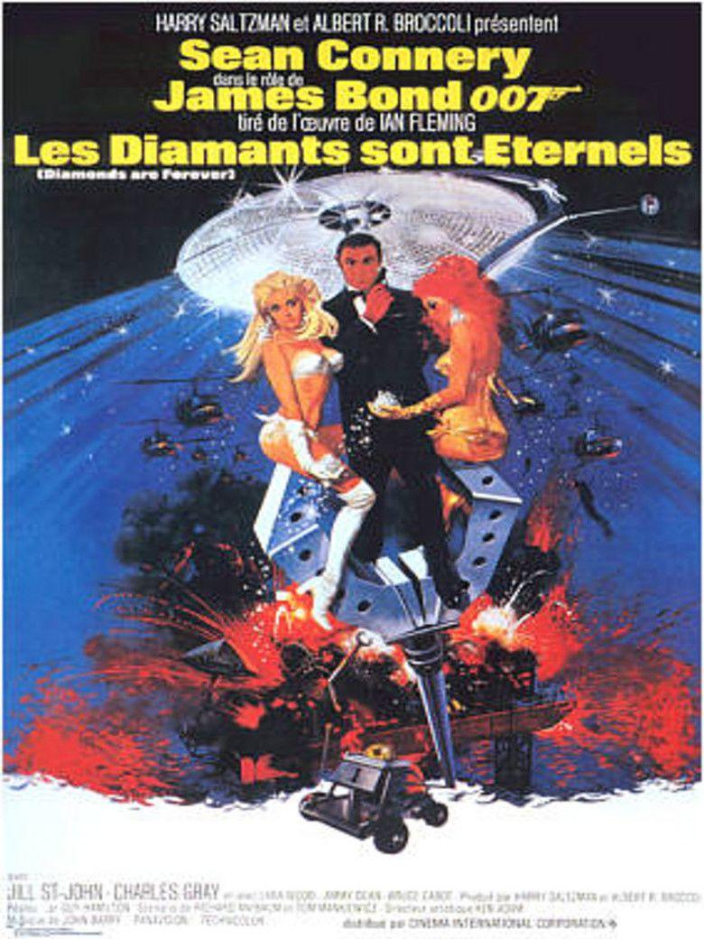 Diamonds Are Forever (film) movie poster