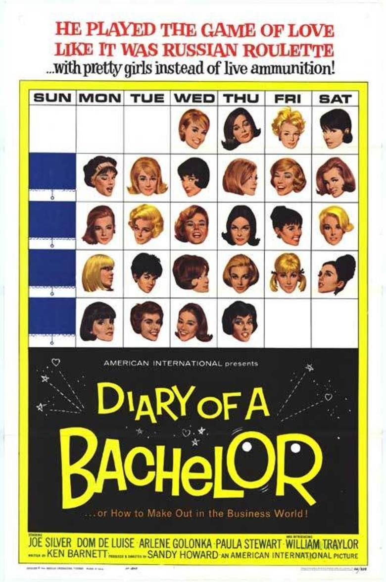 Diary of a Bachelor movie poster