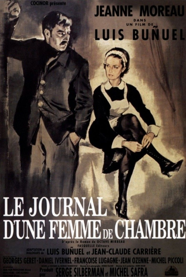 Diary of a Chambermaid (1964 film) movie poster