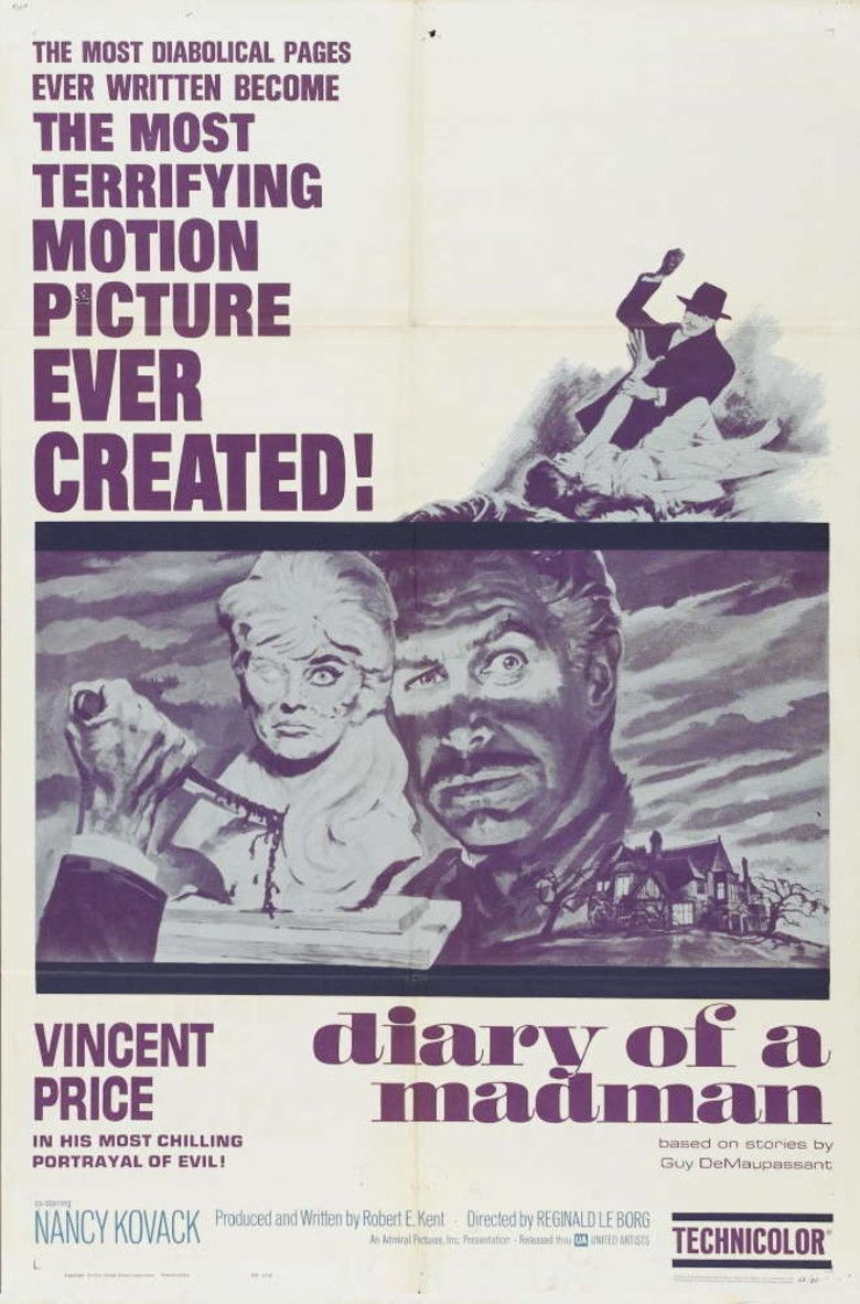 Diary of a Madman (film) movie poster