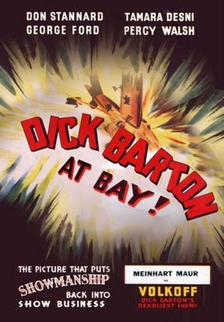 Dick Barton at Bay movie poster