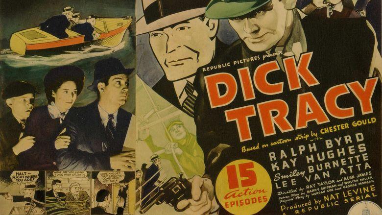 Dick Tracy (serial) movie scenes