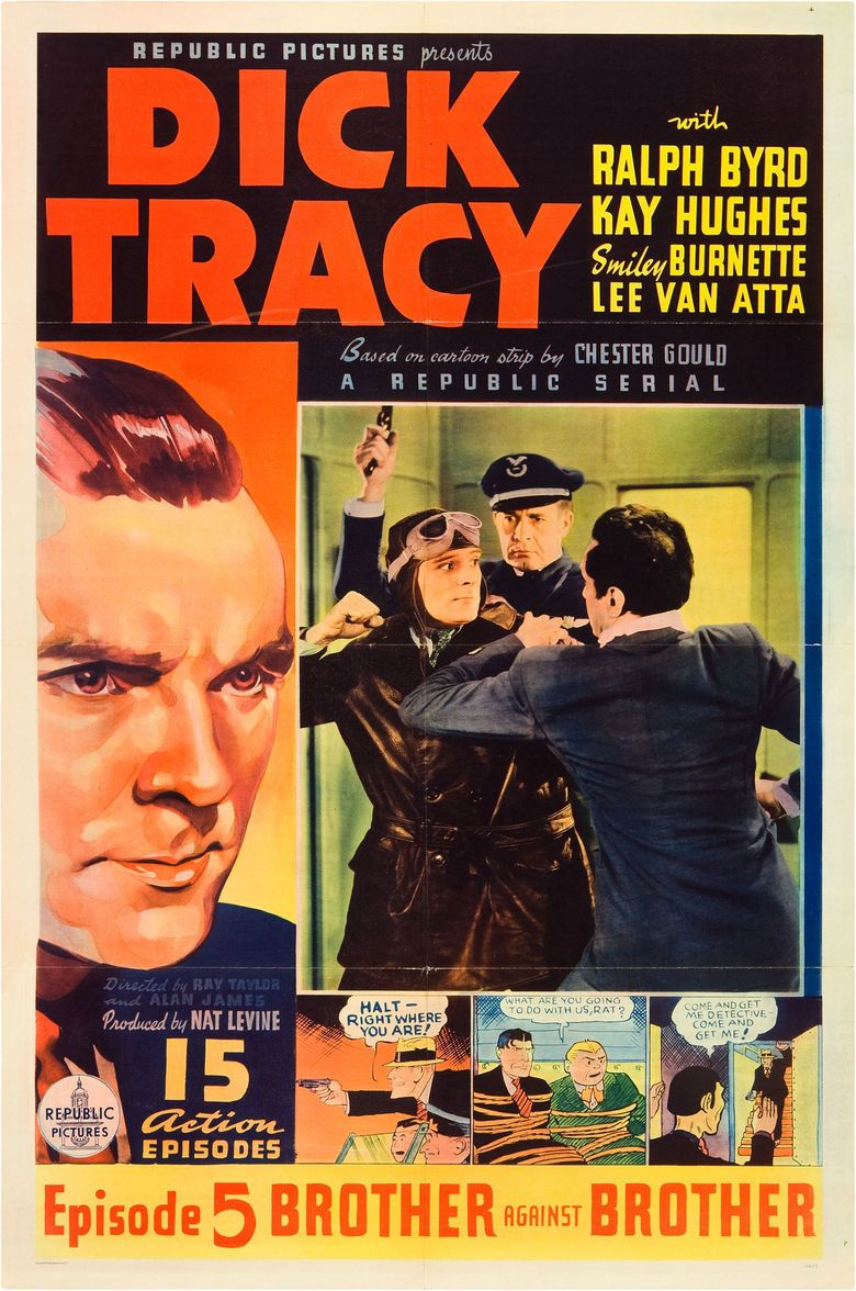 Dick Tracy (serial) movie poster