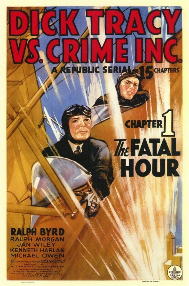 Dick Tracy vs Crime, Inc movie poster