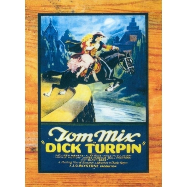Dick Turpin (1925 film) movie poster