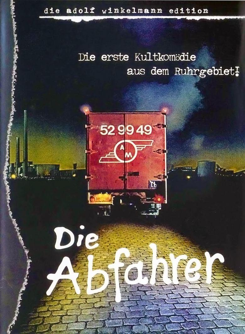 Die Abfahrer movie poster