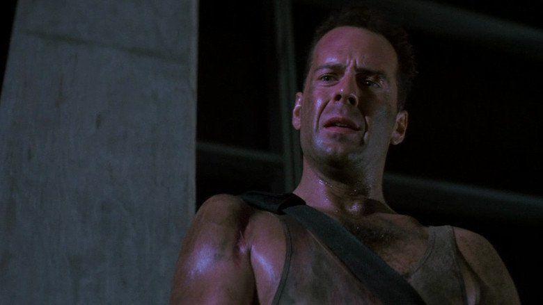 Die Hard movie scenes