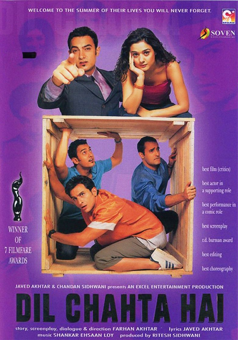 Dil Chahta Hai movie poster