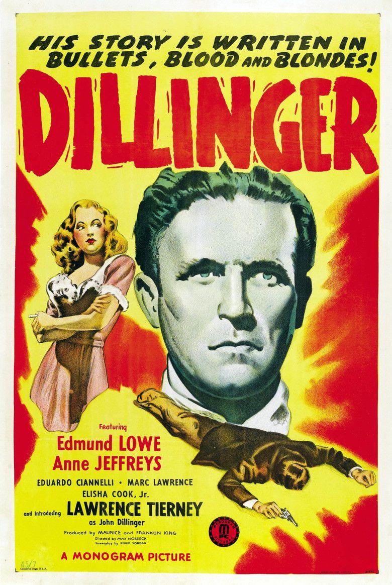 Dillinger (1945 film) movie poster