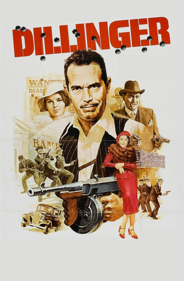 Dillinger (1973 film) movie poster
