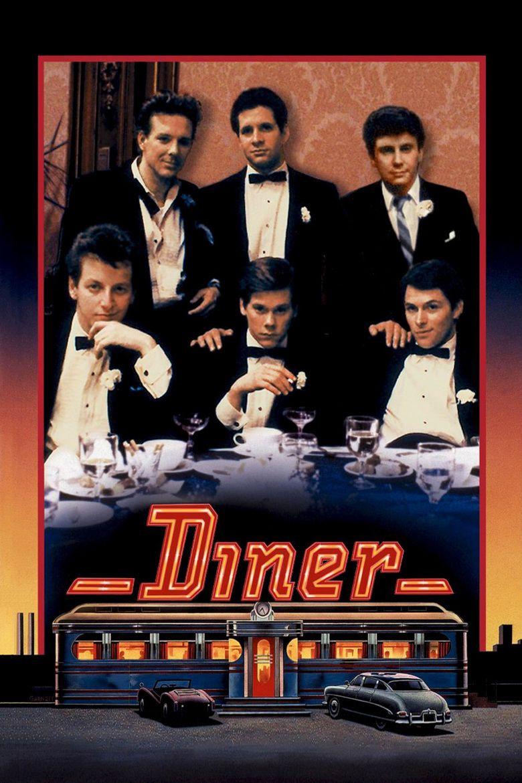 Diner (film) movie poster