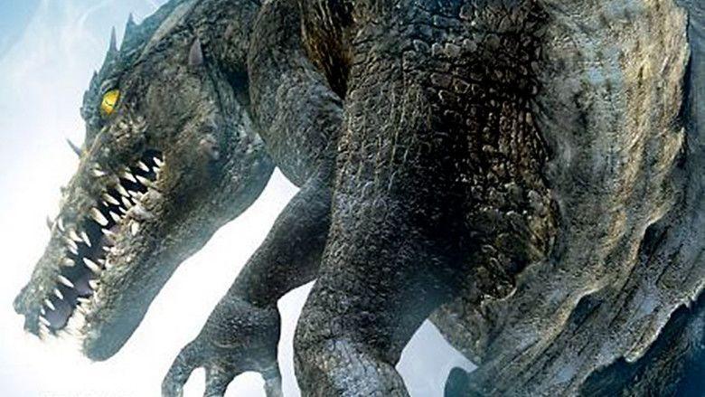Dinocroc movie scenes
