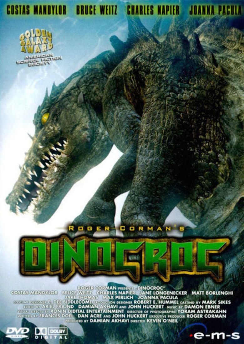 Dinocroc movie poster