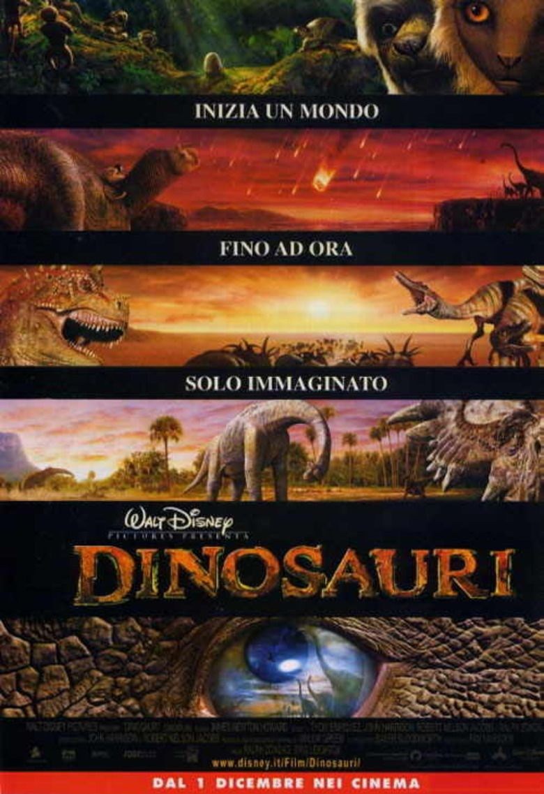 Dinosaur (film) movie poster