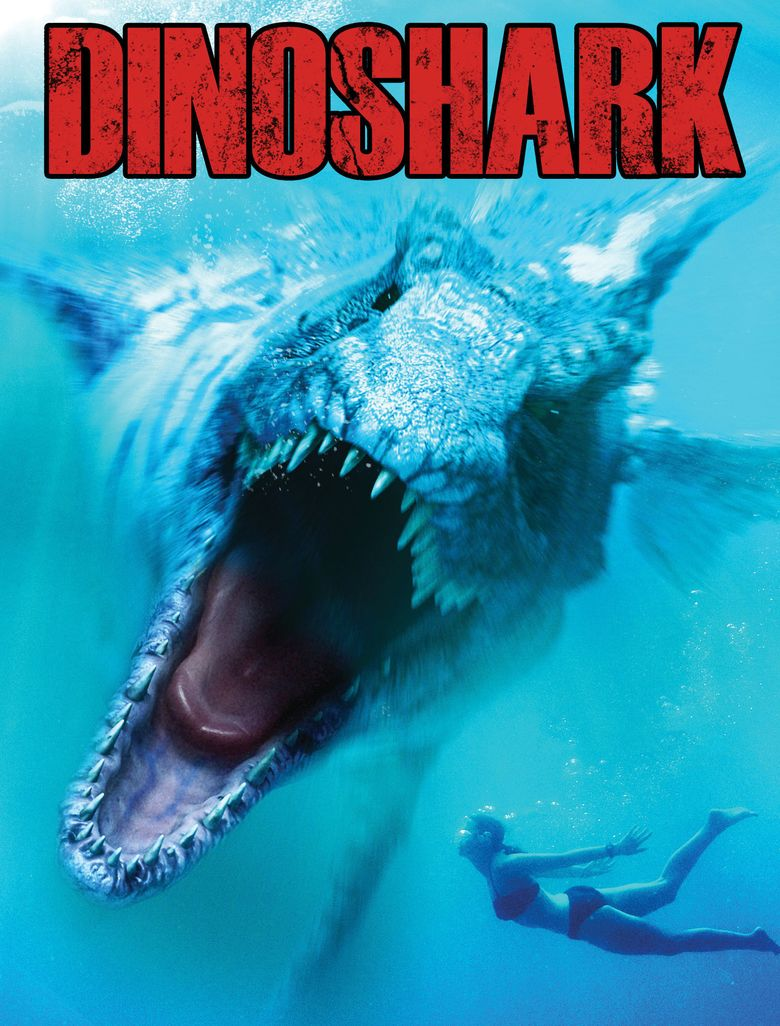 Dinoshark movie poster
