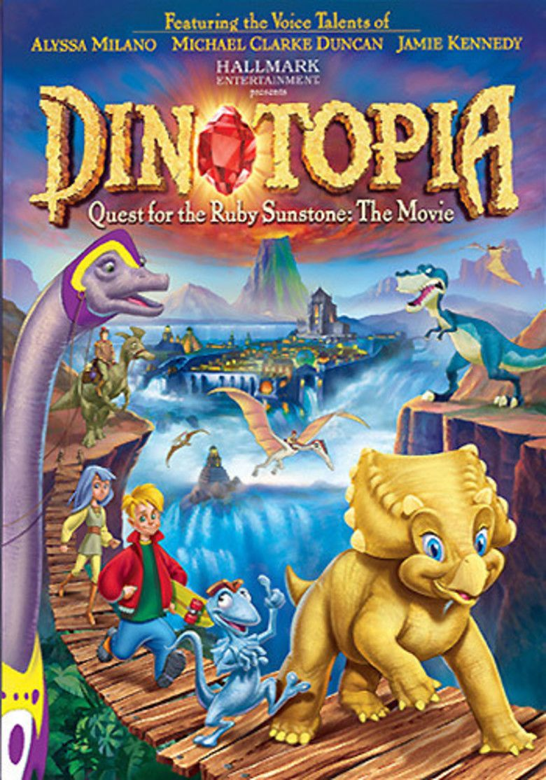 Dinotopia: Quest for the Ruby Sunstone movie poster