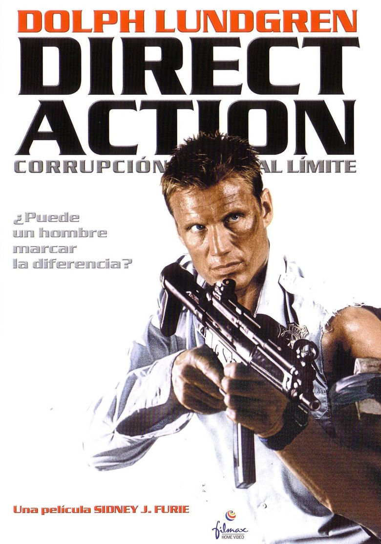 Direct Action (film) movie poster
