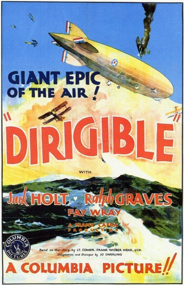 Dirigible (film) movie poster